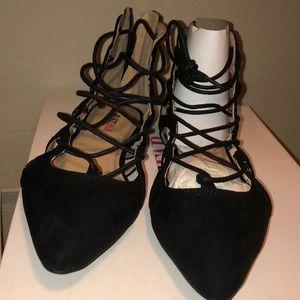 Justfab Hyacinth Black sandals
